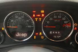 JK Dash Warning Lights What They Mean