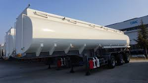 100 Semi Truck Fuel Tanks Tractor Semi Trailer Fuel Tank Heavy Capacity From CIMC Vehicle For