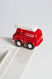 Nora Fleming Fire Truck Mini | Products | Pinterest | Nora Fleming ...
