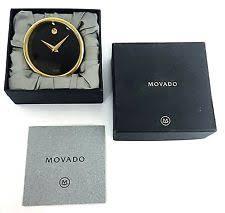 movado desk mantel shelf clocks ebay