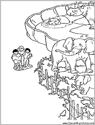 Coloring Pages Online Zoo Animal Pictures