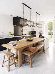 Stunning Long Kitchen Tables Dining Table