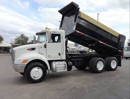 2014 Used Peterbilt 348 15FT DUMP TRUCK..TANDEM AXLE At TLC Truck ...