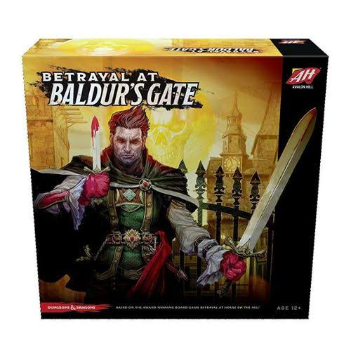 Avalon Hill Board Game - Betrayal at Baldur's Gate