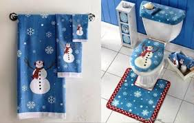 Christmas Bathroom Sets At Walmart by Christmas Fantastic Christmas Bathroom Decor Image Inspirations