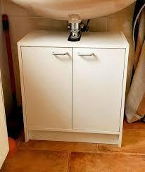 waschbeckenunterschrank schmal weiß