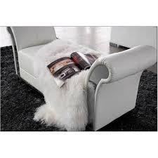 fauteuille chambre fauteuil pouf design capitonne blanc achat vente fauteuil