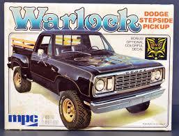 100 Warlock Truck Unbuilt MPC 1977 Dodge Step Side Pickup Truck 125 Scale