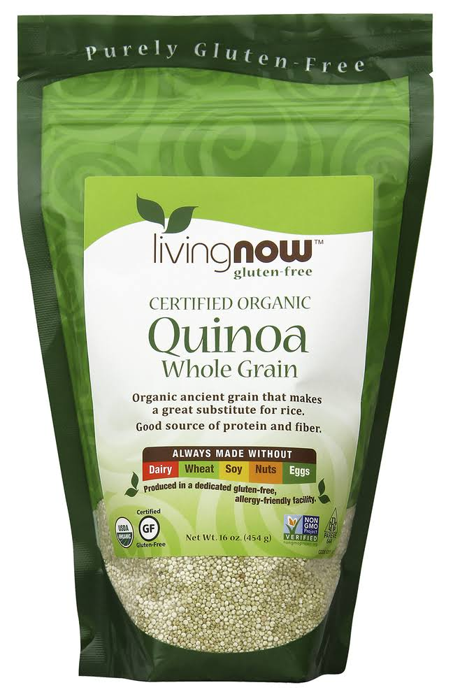 Now Foods Certified Organic Quinoa Whole Grain - 16oz
