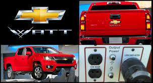 100 Chevy Hybrid Truck Watt The VoltPowered PlugIn Pickup