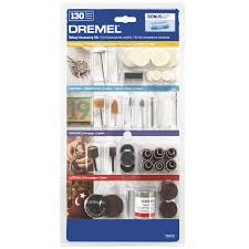Dremel Tile Cutting Kit by Shop Dremel 130 Piece Aluminum Oxide Multi Bit Kit At Lowes Com