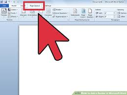 Image Titled Add A Border In Microsoft Word Step 1