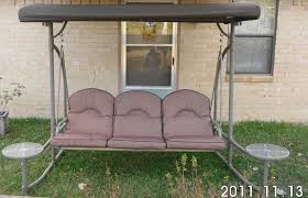 Patio Side Tables At Walmart by Home Trends North Hills Outdoor Swing Walmart Replacement Canopy