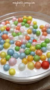 This Is A Slime I Like To Call Trix Cereal Hahasimple White With Multi Color Foam Balls