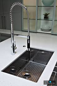 dornbracht s tara ultra profi faucet and blanco s quatrus sink