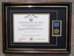 Medal Frame Military Award