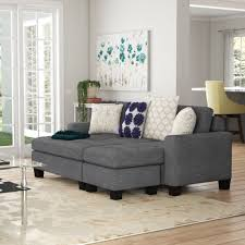 100 Livingroom Malvern Michaud Reversible Sleeper Sectional With Ottoman