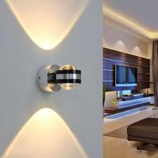 canon aluminum 2w led wall l ceiling lights tv wall hallway