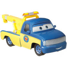 100 Tow Truck From Cars DisneyPixar Race Tom DieCast Character Vehicle