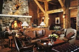 Rustic Cabin Interior Design Style