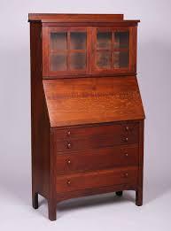Drop Front Secretary Desk by Lifetime Furniture Co Archives California Historical Design