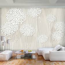 vlies fototapete blumen pusteblume beige tapete wandbilder wohnzimmer 076 ebay