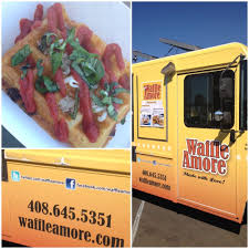 Waffle Pizza Of Waffle Amore From Food Truck #BattleDish At ... Food Truck Wraps Custom Vehicle Preopening Party For Curry Up Now San Jose East Bay Taco Festival Moveable Feast Ill Drive Thru Rain And Smog My Road Dog Live Action Eating Seor Sisig Filipino Fusion Gutierrez Autentica Comida Mexicana Trucks Roaming Town Of Alviso Ca Stock Photo 47772136 Alamy Archives Page 6 Catering Hello Kitty Cafe Popup To Setup Shop In Joses Stana Row Crepe Em Coming Food Truck Roaming The Streets Yelp Inc Sfoodtruckwrapinc Late Night Rentnsellbdcom