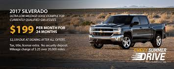 100 Chevy Truck Lease Deals Silverado Lease Offers For August 2017 Westphal Blog