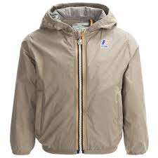 k way lily light packable rain jacket for little and big kids