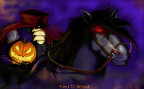 Tarrytown Halloween Parade Route by Headless Horseman The Headless Horseman By Tcfenwicksart On