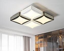 moderne minimalistische eisen mode atmosphäre kreative led schlafzimmer wohnzimmer flache fensterbeleuchtung len und lant deckenleuchte lo8169