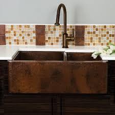 33x22 Copper Kitchen Sink by Native Trails Farmhouse Kitchen Sink