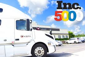 100 Chicago Trucking Companies Vista Trans Holding Inc Has Been Selected For The 2018 Inc 5000