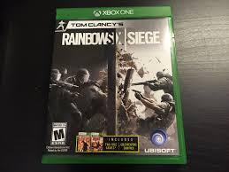 siege xbox one rainbow six siege xbox one unboxing