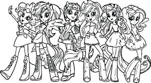 Rarity My Little Pony Coloring Pages Well Suited Ideas Girls Printable Me Rainbow Dash Colori