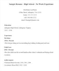 Work Experience Sample Resume Example Ii Limited