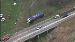Pepsi Truck Crashes Into Fort Bend County Creek | Abc13.com Four Killed As Truck Hits Bus On Lagosibadan Expressway Premium Pepsi Crashes Into Fort Bend County Creek Abc13com Update One Dead After Tractor Trailer House In Carroll Truck Crash Chicago Best 2018 Woman Dies Crash Between Car I95 Cumberland Part Of Nb I69 Eaton Co Reopens 1 Critical Cdition Hwy 401 Near Dufferin The Poultry Reported Rockingham Cleveland His Got Stuck Then He Saw A Train Coming Sun Herald Louisa Man Gop Crozet