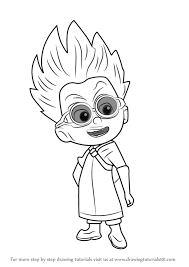 Learn How To Draw Romeo From PJ Masks Coloring Pages Printable