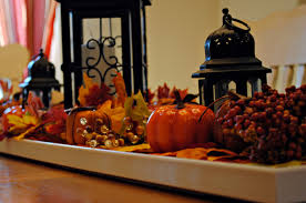 Dining Room Centerpiece Ideas Candles by Decorations Comely Ideas Of Thanksgiving Kitchen Dining Table