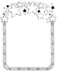 free to print star border clipart Star Border