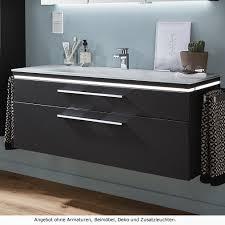 puris cool line badmöbel als waschtischset 120 cm