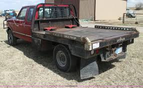 Used Deweze Bale Beds For Sale by 1996 Ford F250 Xlt Bale Bed Truck Item H2214 Sold April