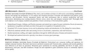 Culinary Resume Profile Examples New Download Sample