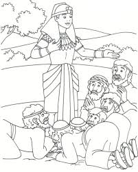Coloring Download Story Of Joseph Pages Josephs Coat Sheet Many