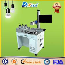 china plastic led bulb fiber laser marking machine china fiber