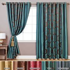 teal and brown curtains amazon com