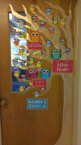 Winter Themed Classroom Door Decorations by Best 25 Owl Door Decorations Ideas That You Will Like On