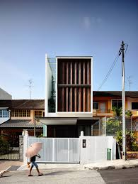 100 Terrace House In Singapore Primrose Avenue HYLA Architects Modern Small House