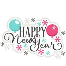 New Year clipart new year s day Pencil and in color new year