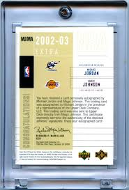 The Upper Deck Company Llc Linkedin by Lot Detail 2002 03 Upper Deck Sp Game Used Extra Significane